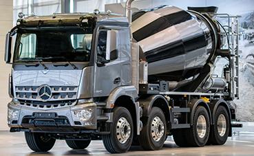 Nuevo Arocs de Mercedes: una solución a medida para cada carrocería