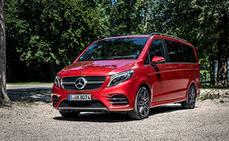 Mercedes-Benz presentará el 'facelift' de su V-Class en la IAA 2019