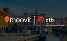 CTB y Moovit fomentarán el uso del transporte público en Vizcaya