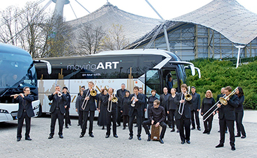 La iniciativa Neoplan movingArt se va de gira con Hans Zimmer