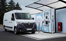 Renault apuesta por el hidrógeno para sus vehículos comerciales