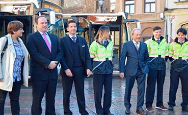 Oviedo ha renovado la mitad de su flota de buses desde 2016