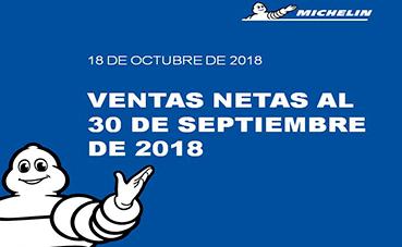 Grupo Michelin hace públicos sus resultados financieros