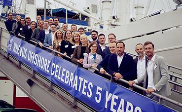 Rhenus Offshore Logistics celebra su quinto aniversario en Alemania