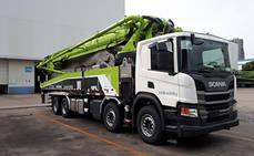 Scania entrega 170 camiones a la empresa china Zoomlion