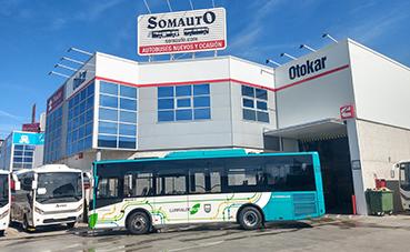 Otokar hace entrega de un autobús urbano Clase I a Ekial Debus