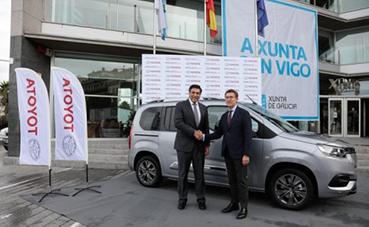 Toyota presenta una nueva Proace City en Galicia
