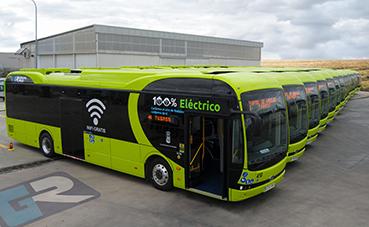 Tubasa incorpora 15 autobuses 100% eléctricos