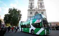 Se inaugura la ruta del autobús eléctrico de Unvi en Londres