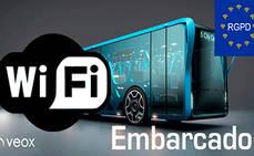 Veox adapta su 'Wi-Fi Embarcado' al nuevo RGPD