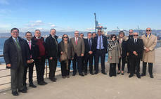 PortCastelló recibe la visita de 15 cónsules del Cuerpo de Valencia