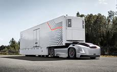 Volvo Trucks presenta una nueva solución basada en vehículos autónomos