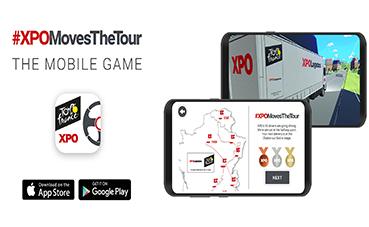 XPO Logistics lanza un juego para móvil sobre el Tour de Francia