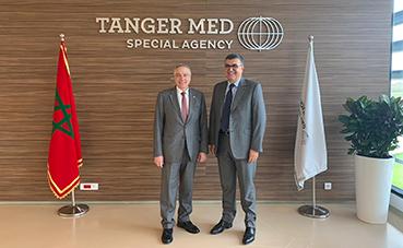 CZFB explora nuevas oportunidades de negocio en Tánger