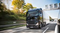 Nuevo Mercedes Benz eActros.