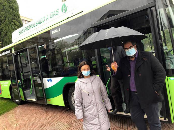 Ciudad Real incorpora tres buses GNC al servicio