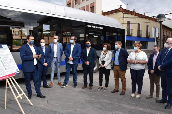 Primer autobús a gas para el regular interurbano de Castilla-La Mancha