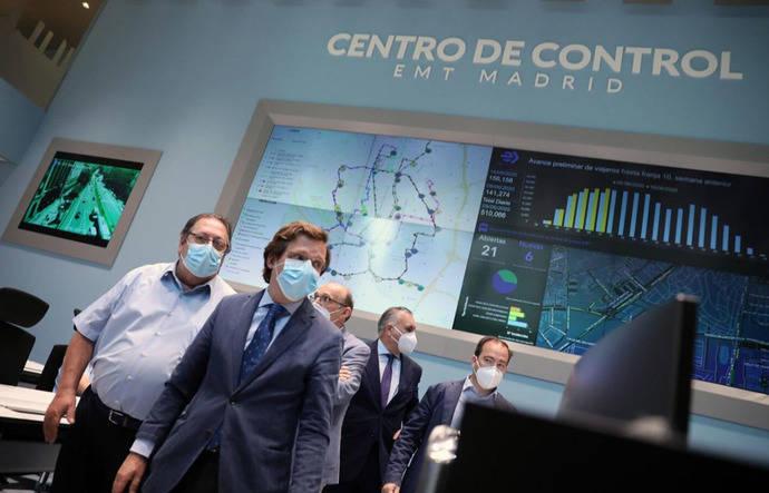 El Centro de Control de la EMT de Madrid, candidato a galardón
