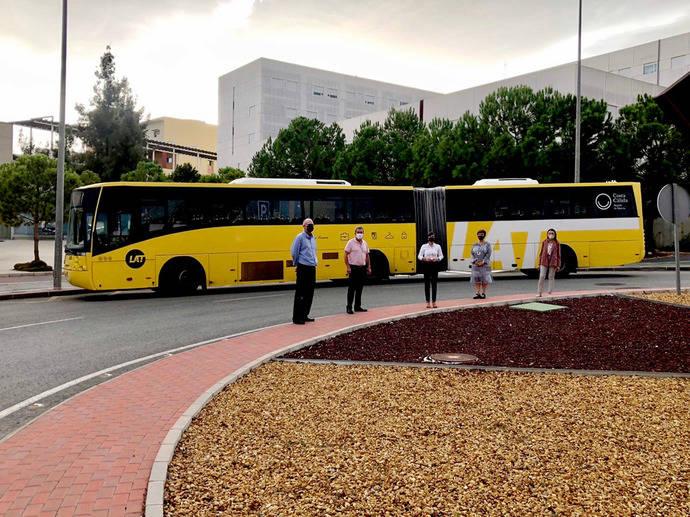Murcia refuerza el servicio a los campus universitarios