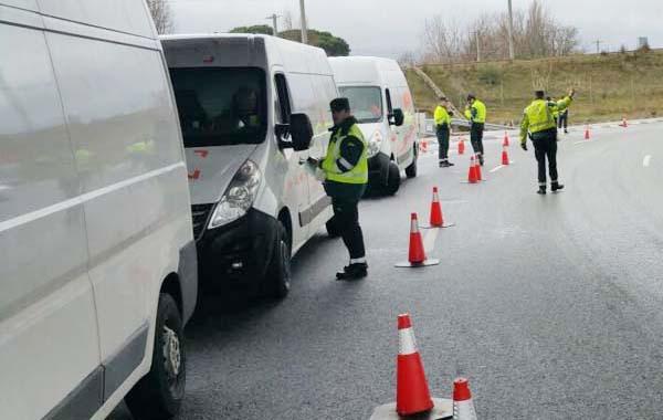Se realiza en Madrid una campaña de inspección de furgonetas