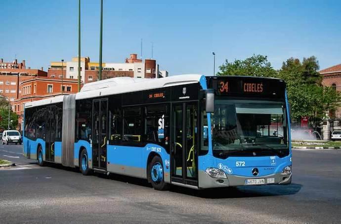 EMT Madrid recupera los niveles de usuarios anteriores a la crisis