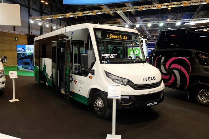 Tugsal y AMB adjudican ocho microbuses urbanos Mobi City a Indcar