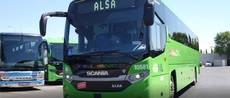 Bus Scania Interlink GNL.