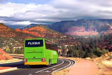 Flixbus en Estados Unidos.
