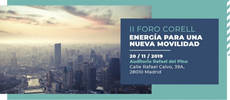 """II Foro Corell: """"Energía para una nueva Movilidad""""."""