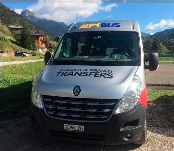 Alsa entra en el mercado de transfer a las estaciones de esquí de los Alpe