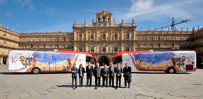 Avanza promociona el aniversario de la Universidad de Salamanca