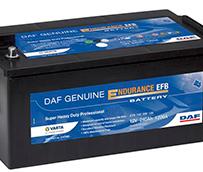 Nuevas baterías DAF Genuine Endurance EFB