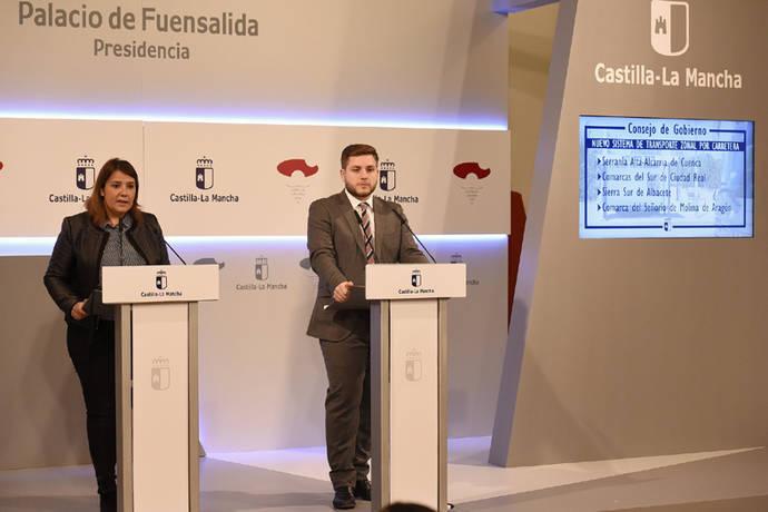 Castilla-La Mancha reorganiza el transporte en cuatro zonas rurales