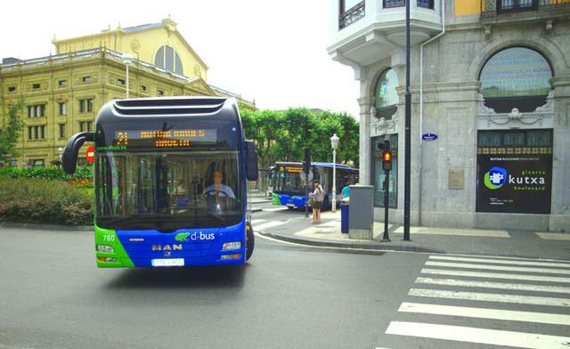 San Sebastián y Dbus, en favor del uso del billete