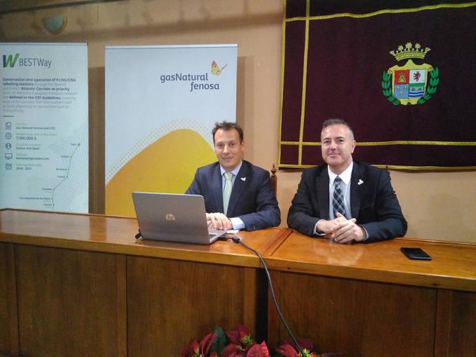 Gas Natural Fenosa completa el 70% del eje París-Algeciras