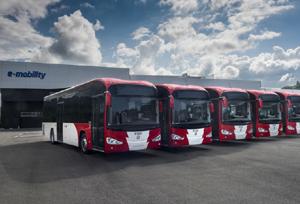 Luxemburgo incorpora seis Irizar ie bus eléctricos