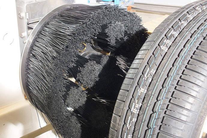 Nuevo cepillo de Istobal para las ruedas