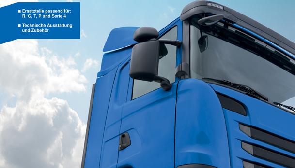 Europart lanza su primer catálogo para Scania