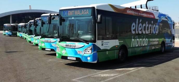 EMT Málaga alcanza su récord de viajeros en 2017