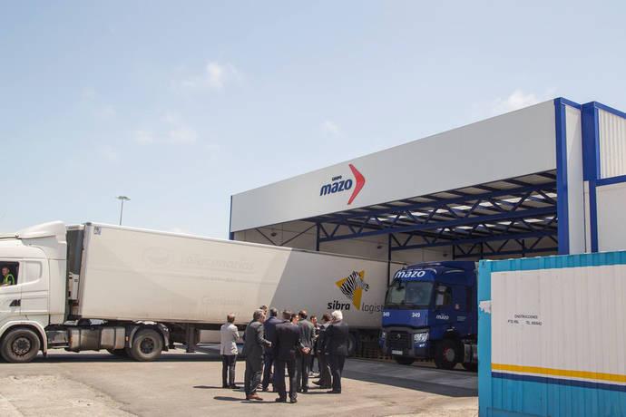 José Llorca visita las nuevas instalaciones de Mazo en Cádiz