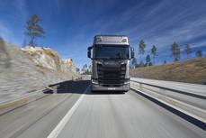 Camión Scania.