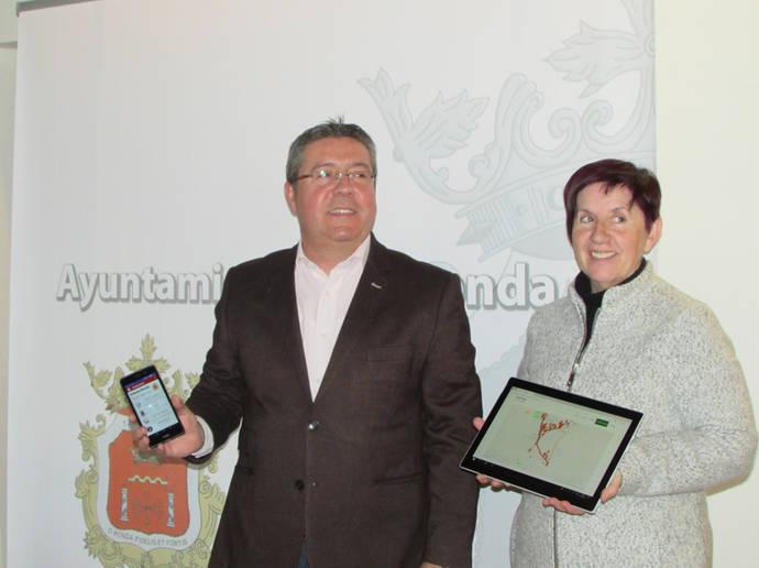Nueva app para el transporte urbano de Ronda