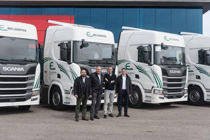 ROS Logística Integral adquiere cinco unidades Scania