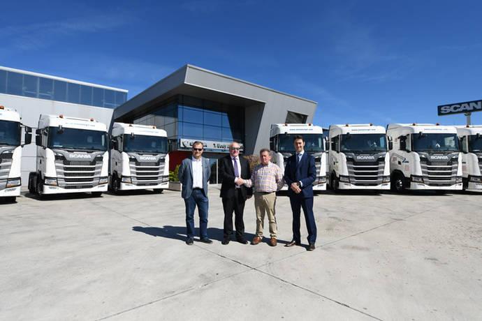10 tractoras Scania S450 para Juan José Gil