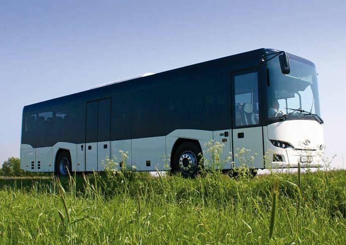 300 Solaris InterUrbino para Cotral en el mercado italiano
