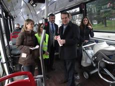 Autobuses de Vitrasa.