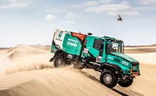 Los camiones con cajas Allison finalizan rally Dakar 2019