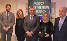 Arancha García, premio Mujer y Gestión de Tráfico 2018