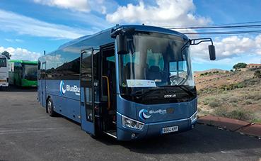 Somauto-Otokar entrega dos Vectio a Blue Tenerife Bus