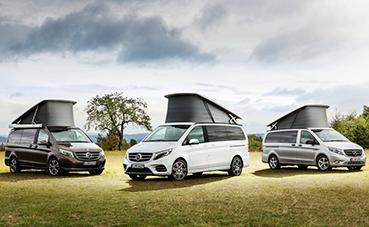 Mercedes-Benz Vans acude al Salón Internacional del Caravaning